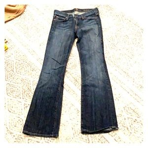 7 for all mankind bootcut denim size 24/25